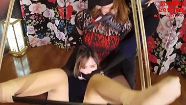 tickling bondage chinese girl